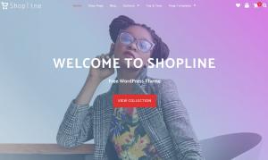 صورة لقالب Shopline